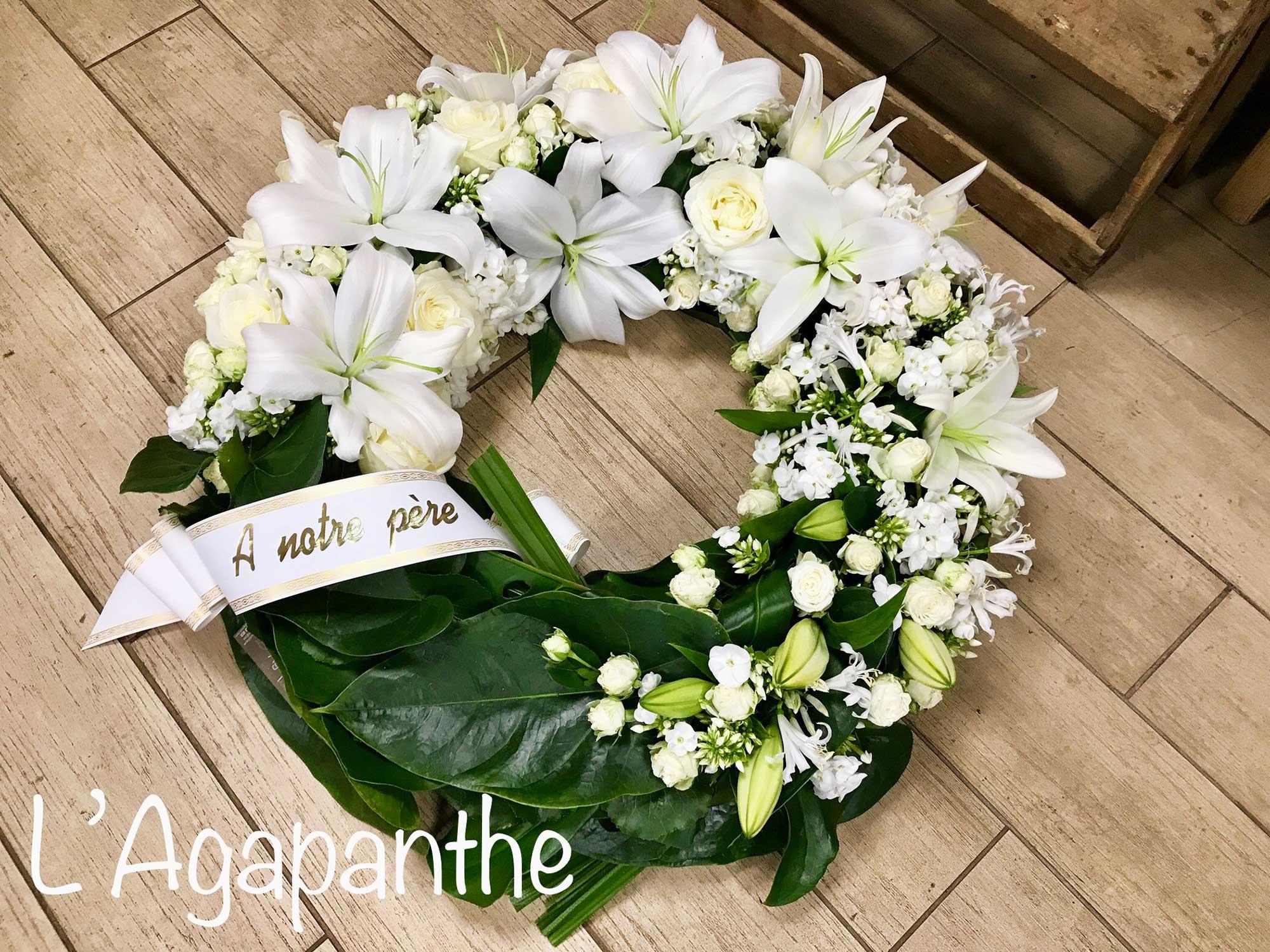 L'Agapanthe - événement deuil